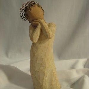 Demdaco Willow Tree ANGEL LOVE Figurine